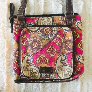Relic bohemian crossbody bag